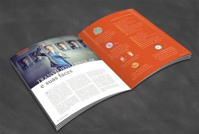 Miolo da revista Corações e Mentes #4