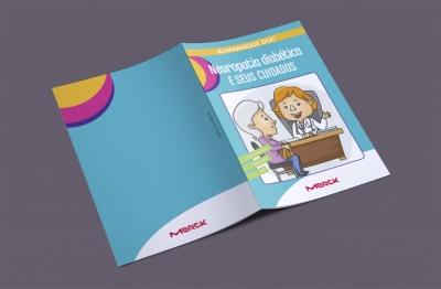 Almanaque sobre neuropatia diabética para a Merck