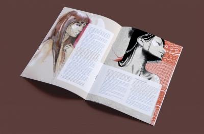 """Miolo do fascículo do """"Sexualidade na adolescência"""" #3"""