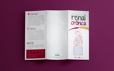 Folder sobre a doença renal crônica