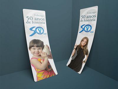 Livro 50 anos Febrasgo | Marcador de livros