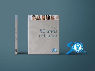 Livro 50 anos Febrasgo | Capa