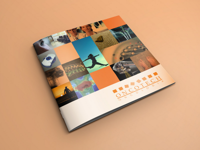 Folder Oncotech | Capa