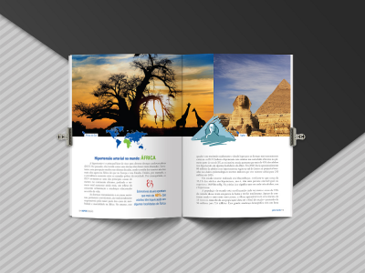 Livro Hipertensão pelo mundo; parte da África