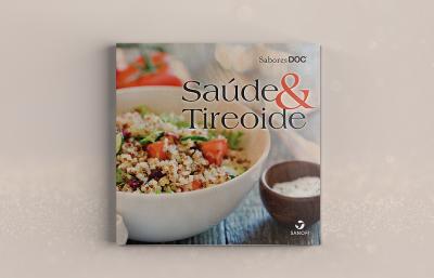 Capa do livro de receitas Saúde & Tireoide