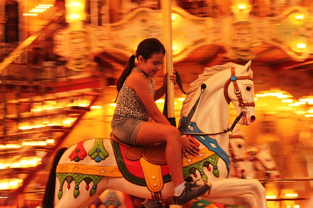 Ensaio de Fotos - Carrousel