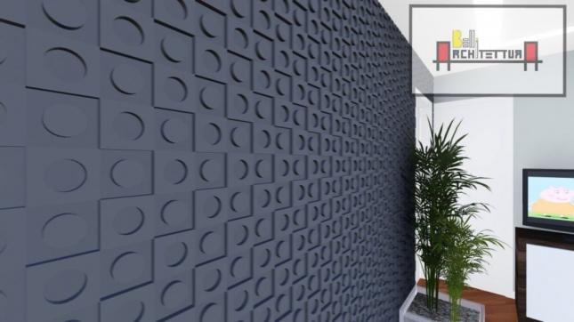 Sala de TV (detalhe parede)