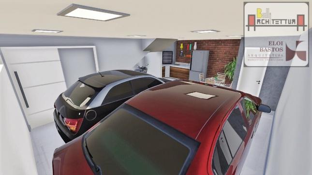 Garagem e Churrasqueira 01