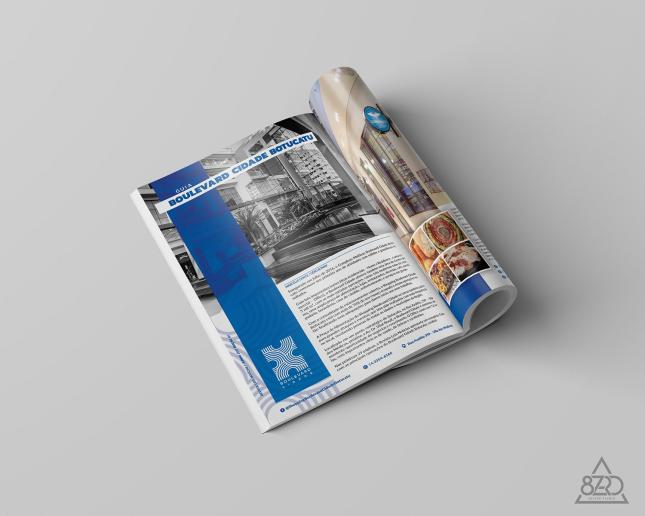 Revista LN Edição 01 - Guia Boulevard Capa