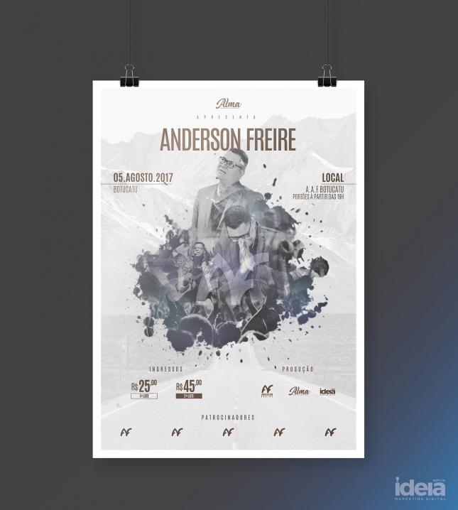 Show Anderson Freire Botucatu