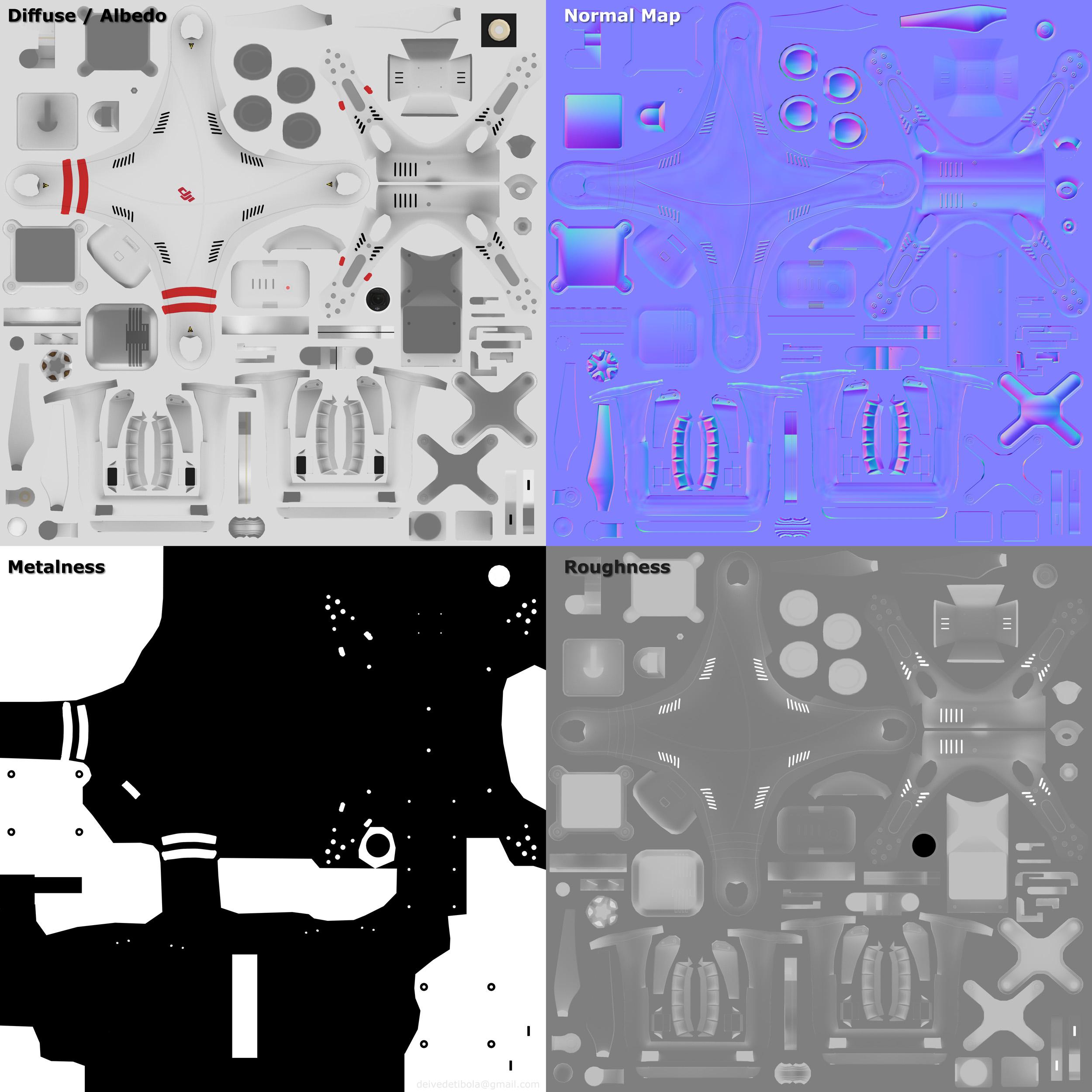 Texturas - Drone