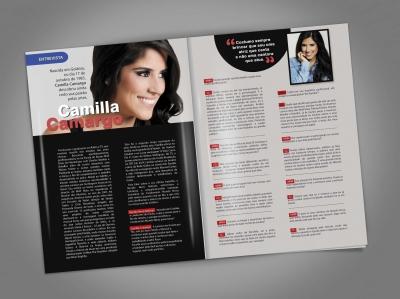 Revista Mundo Novo - Diagramação e design