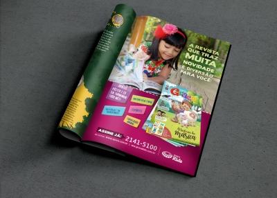 Anúncio Turminha da Graça - Diagramação e design