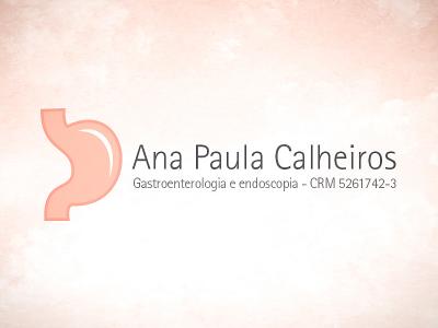 Logotipo Dra. Ana Paula Calheiros