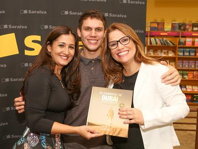 Claudia Borges, Lucas Ripper e Gianne Carvalho