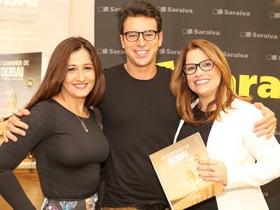 Claudia Borges, Thiago Mello e Gianne Carvalho