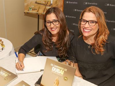 Claudia Borges e Gianne Carvalho