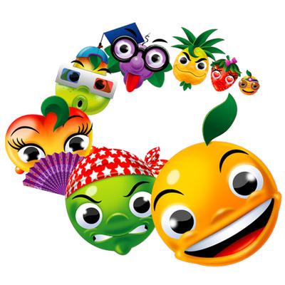 Personagens para promoção Tangalera - Tang