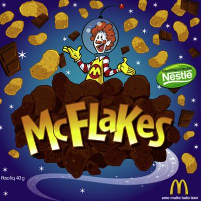 Embalagem McFlakes