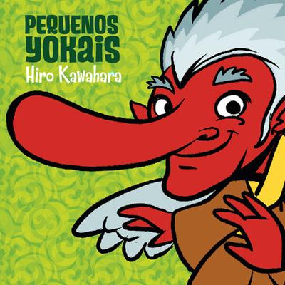 """Capa do livro """"Pequenos Yokais"""" para colorir"""