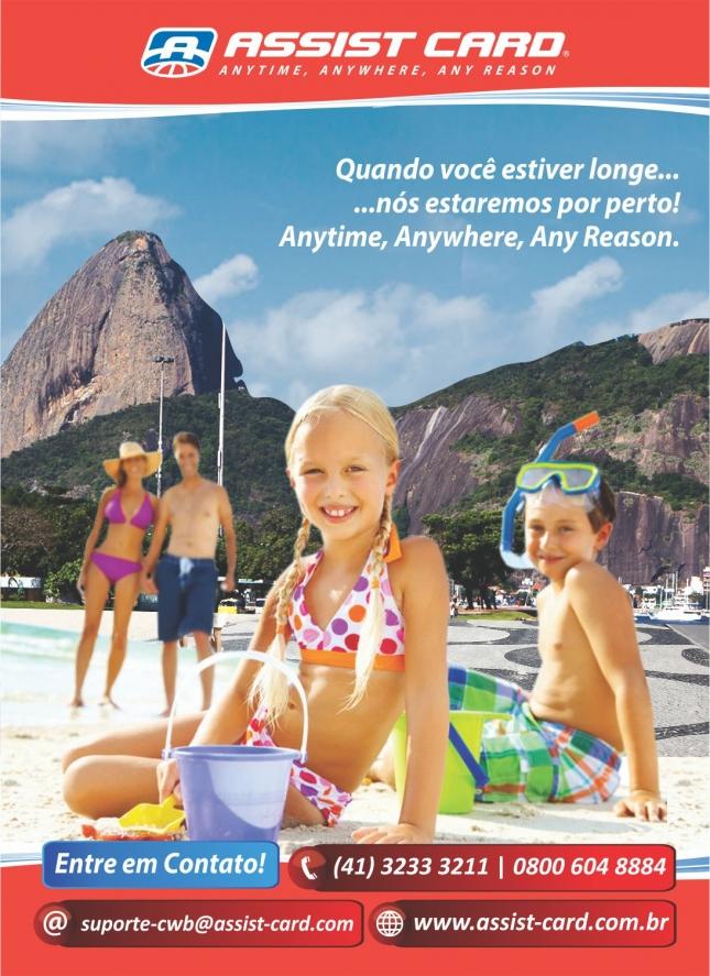 Cliente Assist Card Brasil  |  Campanha Férias