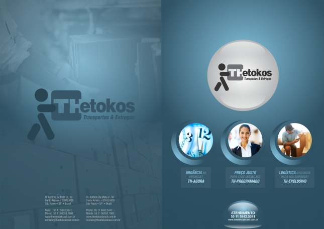 Cliente Theotokos - Capa e Contracapa
