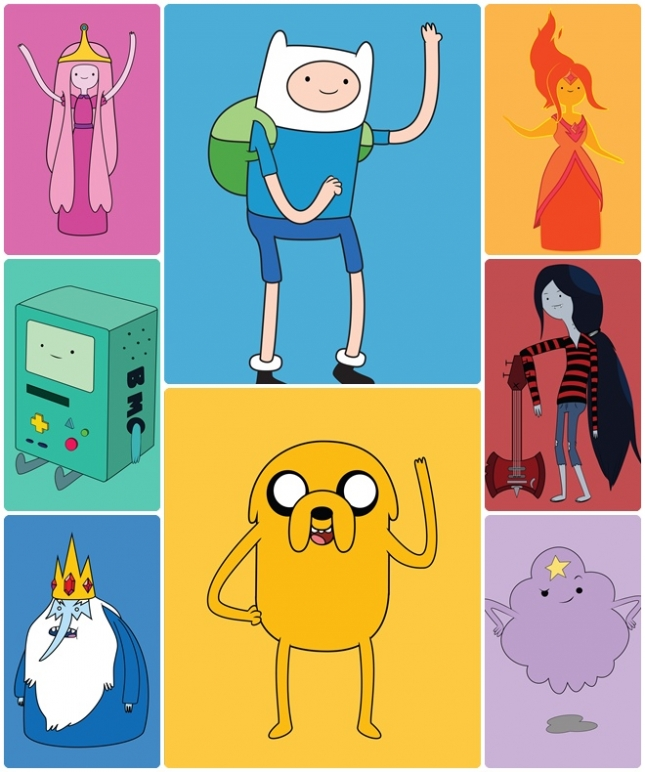 Adventure Time_1 - Software Illustrator