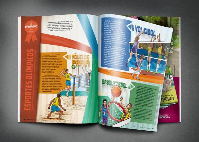 Revista Turminha da Graça - Diagramação e design