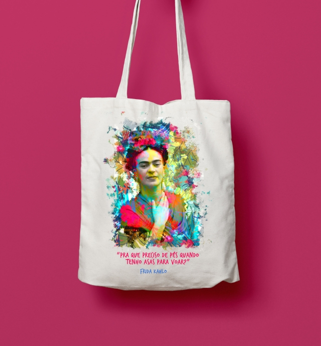 Estampa frase Frida Kahlo