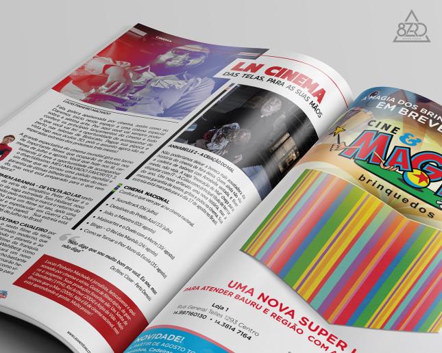 Revista LN Edição 01 - Coluna Cinema