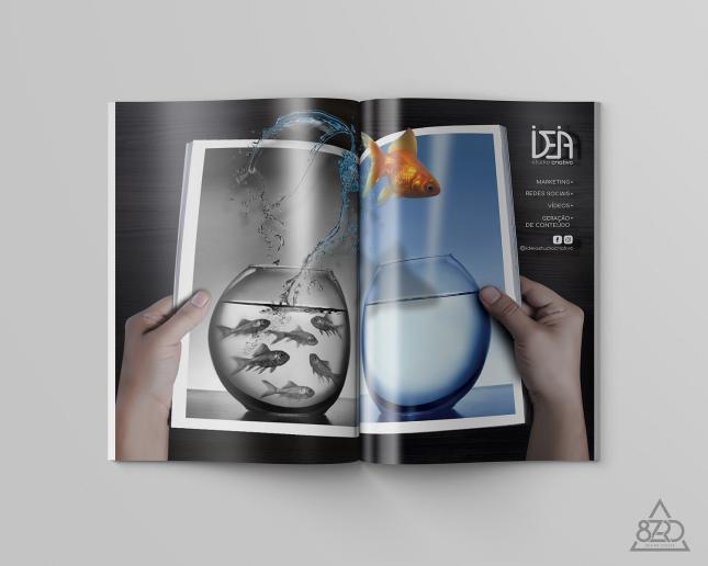 Anuncio Revista | Cliente: Ideia Studio Criativo