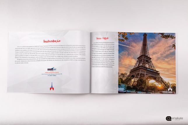 Brochura Paris | Cliente: Alphatrip