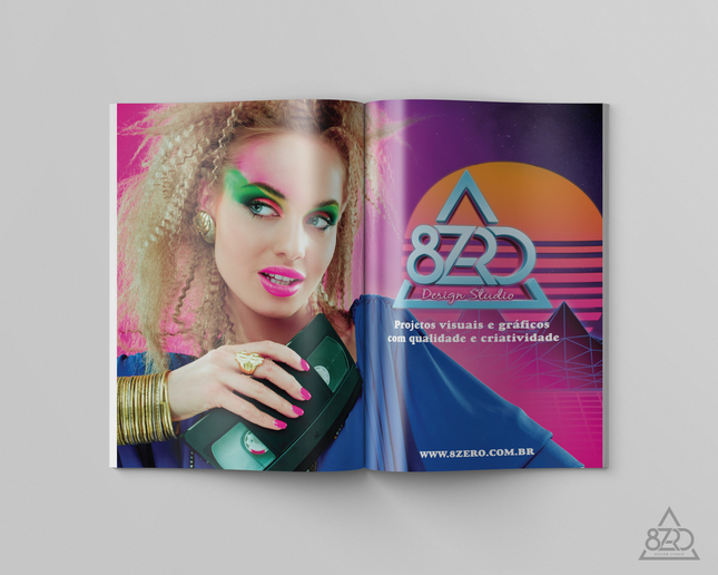 Interior Revista | Cliente: 8Zero